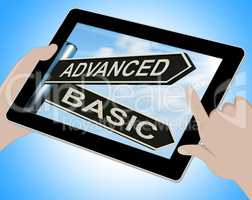 Advanced Basic Tablet Shows Product Versions And Prices