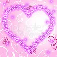 Copyspace Background Indicates Valentine Day And Backdrop