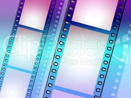 Copyspace Background Means Negative Film And Blank