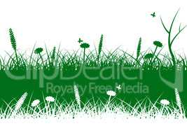 Nature Grass Means Lawn Scenic And Rural