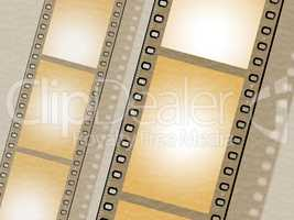 Filmstrip Copyspace Indicates Photo Photography And Design