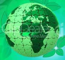 Nature Natural Represents Globally Scenic And Environment
