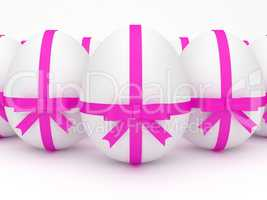 Easter Eggs Represents Background Backdrop And Abstract