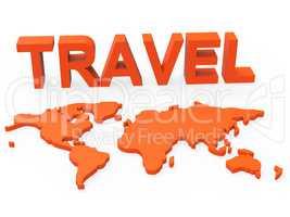 Travel World Indicates Worldly Globalization And Touring