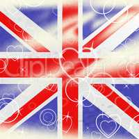 Union Jack Means United Kingdom And Britain