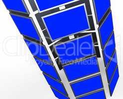 Copyspace Monitors Represents Flat Screen And Blank