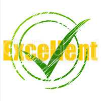 Best Tick Represents Checked Great And Excellent