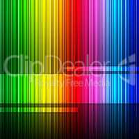 Spectrum Background Represents Color Swatch And Backgrounds