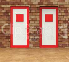 Choice Doors Means Choosing Decision And Doorframe