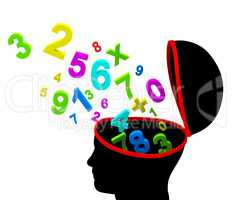 Education Numbers Indicates Educated Tutoring And Educate