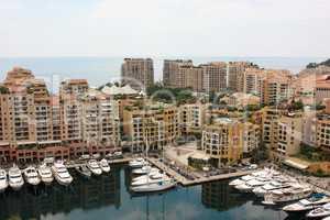 View Monaco neighborhoods. The beautiful Mediterranean Coast. Cote d'Azur