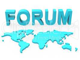 Www Forum Means Social Media And Worldwide