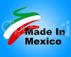 Manufacturing Trade Indicates Industrial Factory And Company