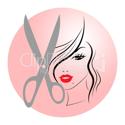 Woman Hair Represents Hairstyle Adult And Lady