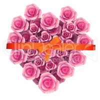 Roses Gift Indicates Giftbox Petals And Valentines