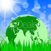 Nature Global Represents Trees Environmental And Earth