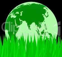 Nature Global Indicates Natural Globally And World