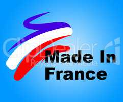Trade Manufacturing Represents Selling Business And Commerce