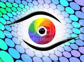 Aperture Spectrum Shows Colour Splash And Colorful