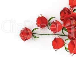 Roses Love Indicates Petal Petals And Adoration