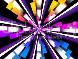 Wheel Background Means Chromatic Segments And Beams.