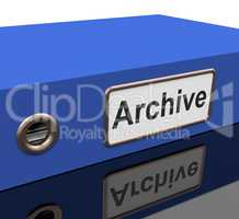 File Archive Means Catalog Document And Documentation