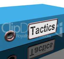 Tactics File Shows Strategy Schemes And Paperwork
