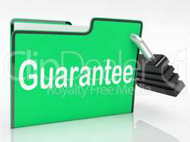 Guarantee Security Shows Private Privacy And Warranteed