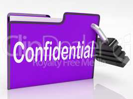 Confidential Security Means Restricted Organize And Confidential