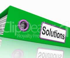 Solutions File Indicates Business Administration And Paperwork