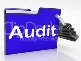 Audit Files Represents Inspection Organized And Organize