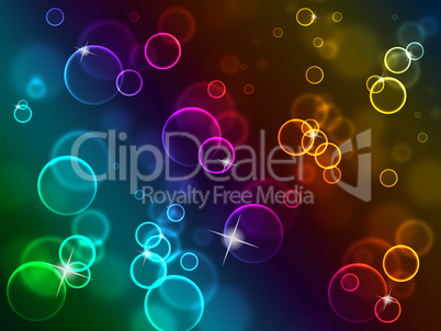 Copyspace Background Shows Backgrounds Bubbles And Template
