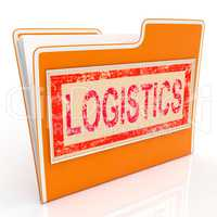 File Logistics Indicates Plan Organize And Document