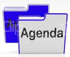Files Agenda Means Binder Administration And Program