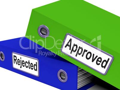 Approval Files Shows Binder Folder And Folders