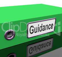 Guidance File Represents Leader Document And Advising