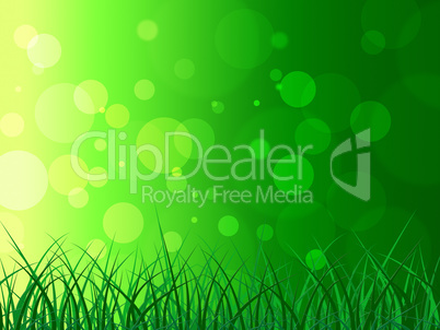Copyspace Background Represents Green Grass And Backgrounds