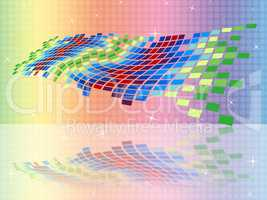 Copyspace Pattern Means Patterned Square And Abstract