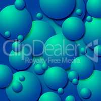 Copyspace Background Represents Spheres Copy-Space And Spherical