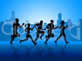 City Exercise Shows Get Fit And Aerobic