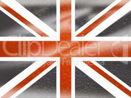 Union Jack Means English Flag And England