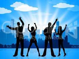 Joy Celebrate Represents Celebration City And Metropolis
