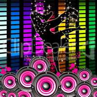 Break Dancing Indicates Hip Hop And Break-Dance