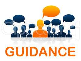 Leader Guidance Means Guide Instructions And Advice