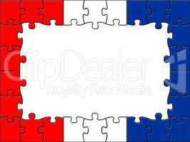 Netherlands Jigsaw Means Text Space And Assemble