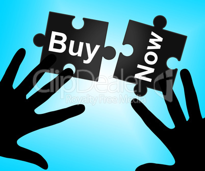 Buy Now Means At This Time And Buyer