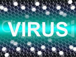 Virus Word Means Preventive Medicine And Doctors