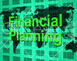 Financial Planning Shows Figures Accounting And Objective