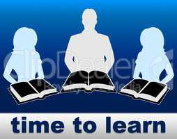 Time To Learn Means Learned Books And Training
