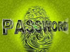 Password Fingerprint Indicates Log Ins And Accessible